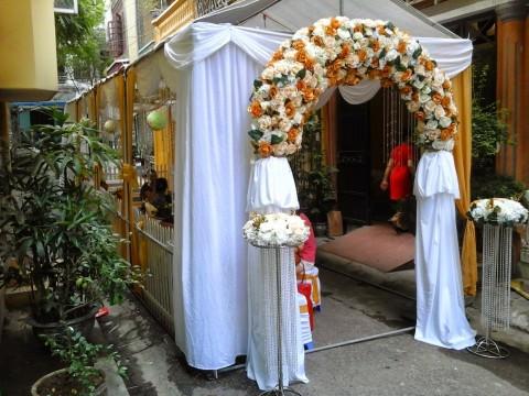 Cổng hoa đám cưới