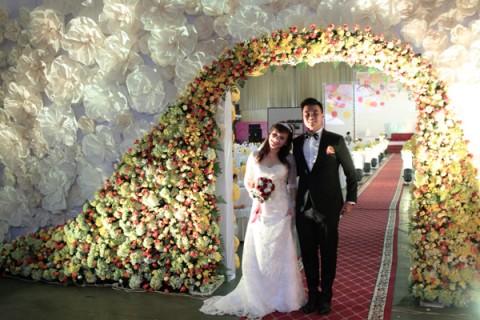 Công hoa cưới